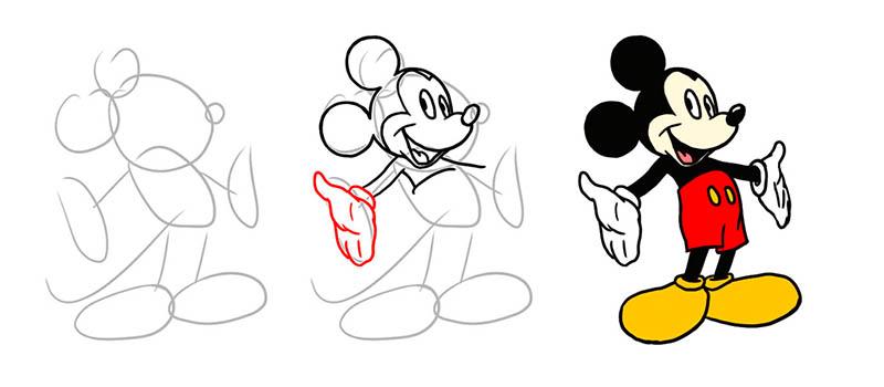 Как нарисовать сказку карандашом поэтапно