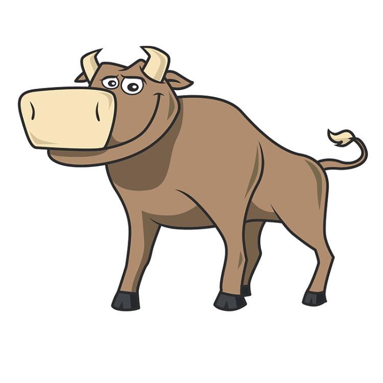 Картинка бык тупогуб