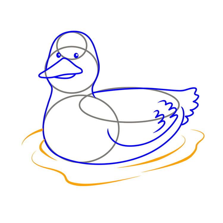 картинки утки как нарисовать родители