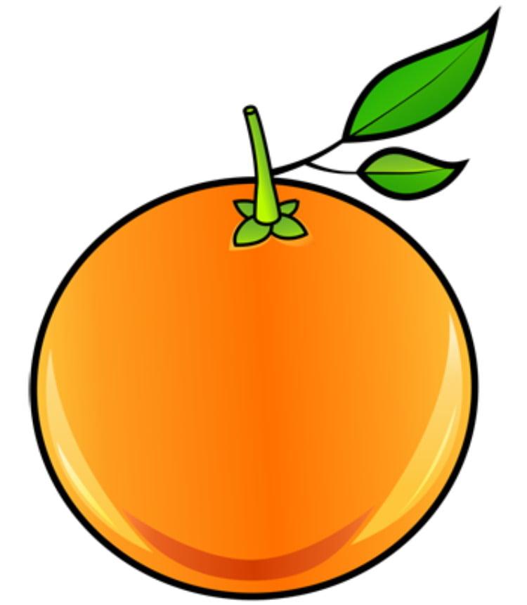 Картинки фрукты нарисовать