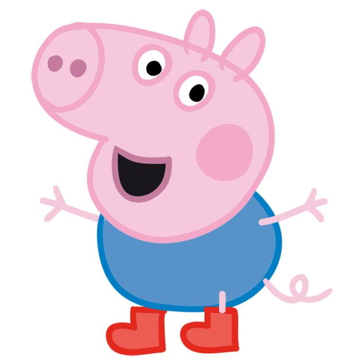 Как нарисовать Свинку Джорджа