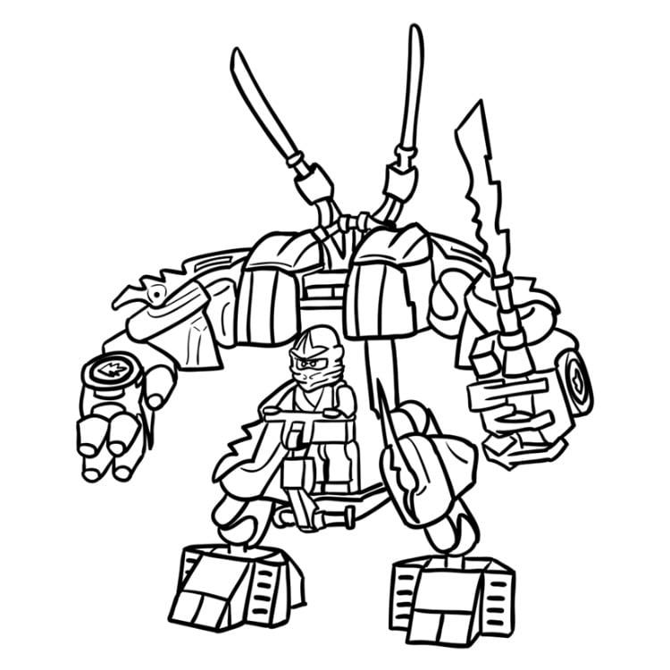 лего роботы раскраска при клике
