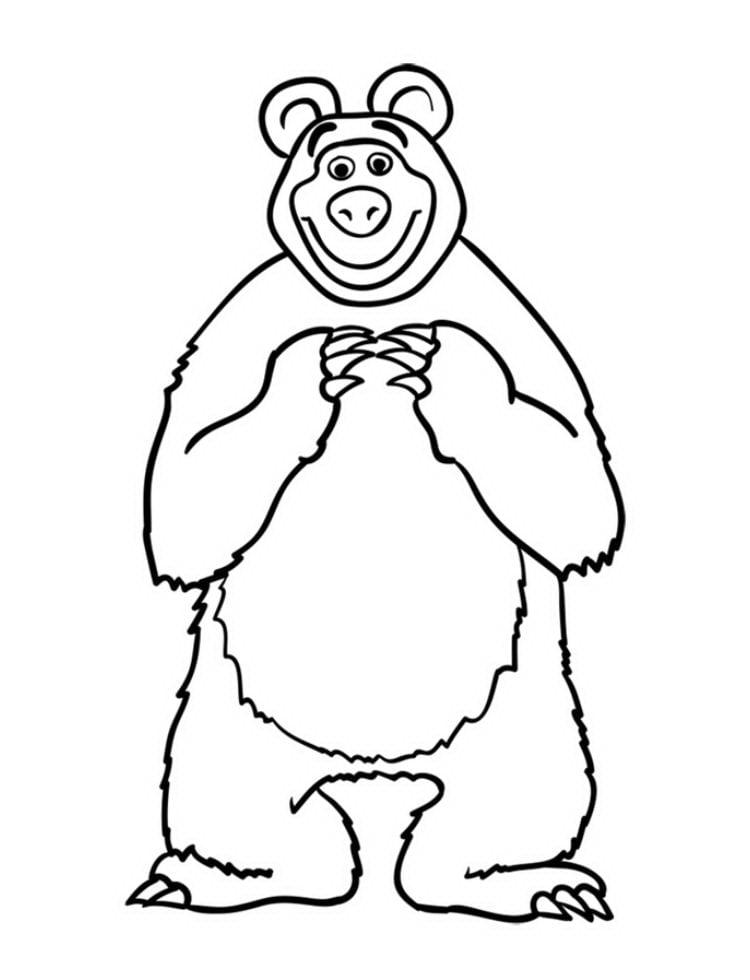 Как нарисовать Медведя Мишу - шаг 11