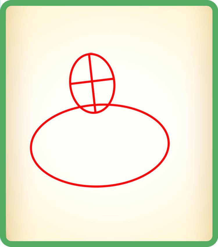 Рисуем Чародейку - этап <i>как рисовать чародейку</i> 01
